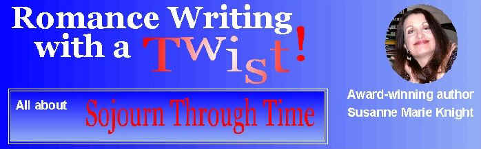 Susanne Marie Knight's Romance Writing with a Twist!
